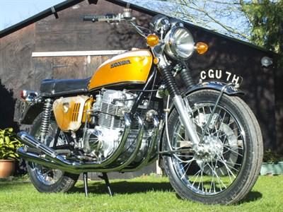 Lot 89-1969 Honda CB750 Prototype