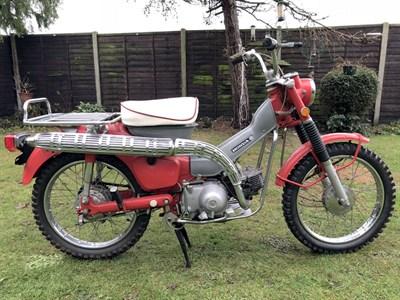 Lot 84-1969 Honda CT90 Trail K1