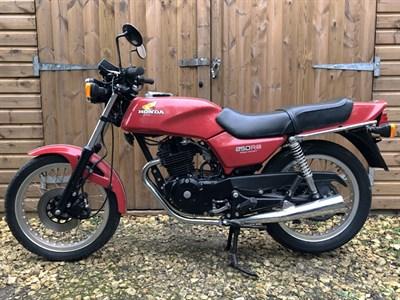 Lot 85-c.1980 Honda CB250RSA