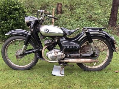 Lot 86-1956 Honda JC56 Benly