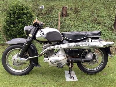 Lot 88-1959 Honda CS76 Dream Sport