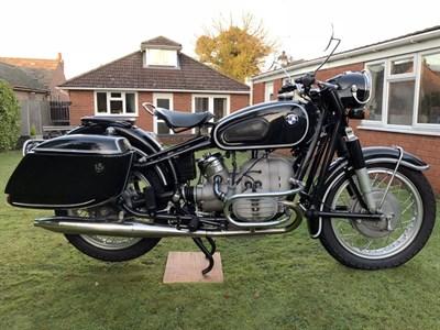 Lot 90-1964 BMW R50/2