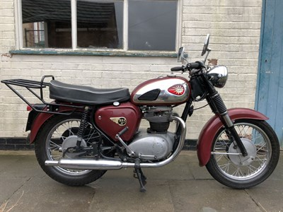 Lot 94-1962 BSA A65 Star