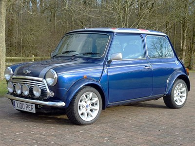 Lot 24 - 2000 Rover Mini Cooper Sport