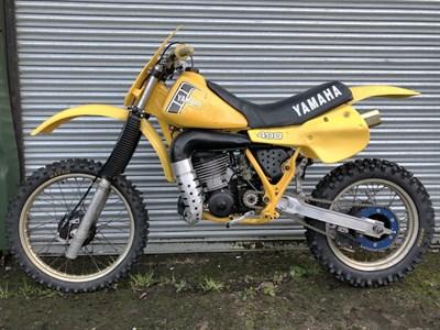 Lot 75-c.1982 Yamaha YZ490 J