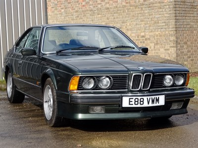 Lot 34 - 1988 BMW 635 CSi 'Highline'