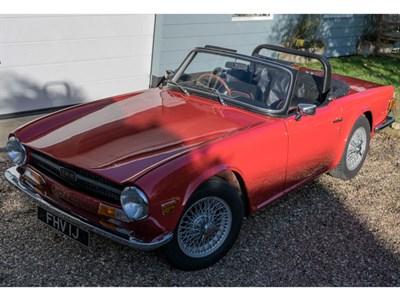 Lot 92 - 1971 Triumph TR6