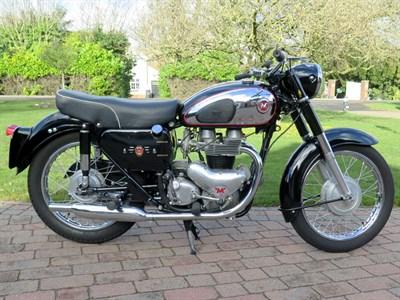 Lot 96-1961 Matchless G12