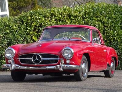 Lot 47 - 1955 Mercedes-Benz 190 SL
