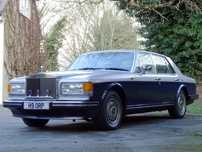 Lot 93 - 1990 Rolls-Royce Silver Spirit II