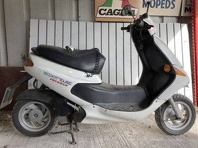 Lot 9-1999 Peugeot Scoot'Elec