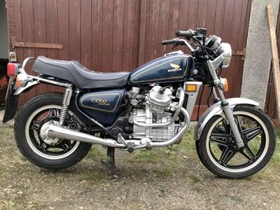 Lot 14-1979 Honda CX500C Custom
