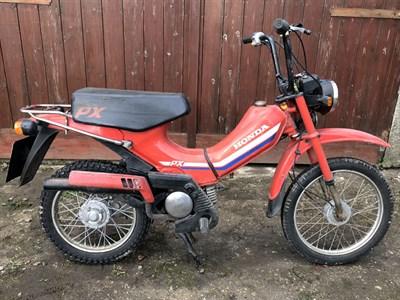 Lot 22-1983 Honda PX50