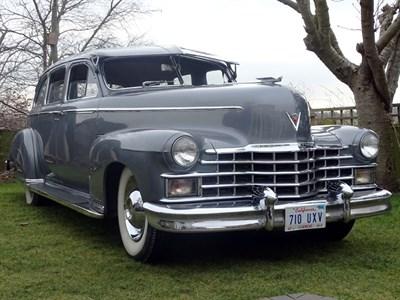 Lot 69 - 1947 Cadillac Series 75 Fleetwood Imperial Sedan