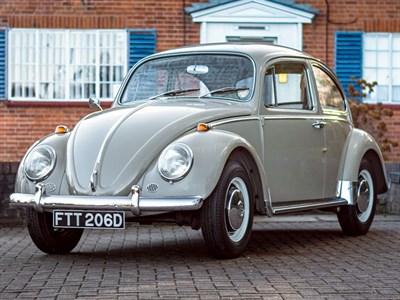 Lot 39 - 1966 Volkswagen Beetle 1300