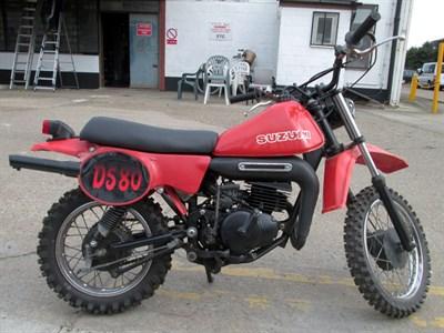 Lot 48-1981 Suzuki DS80