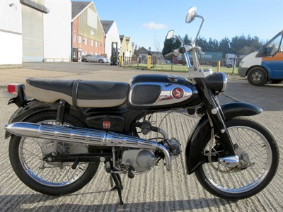 Lot 49-1965 Honda S65