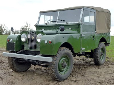 Lot 3 - 1957 Land Rover 88