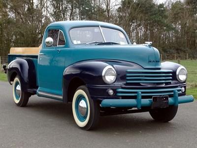 Lot 72 - 1946 Nash P1 Pickup Prototype