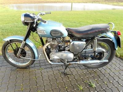 Lot 36-1954 Triumph T100 Tiger