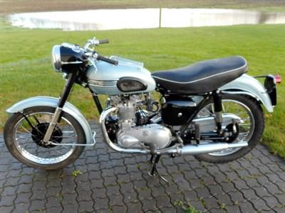 Lot 47-1954 Triumph T100 Tiger