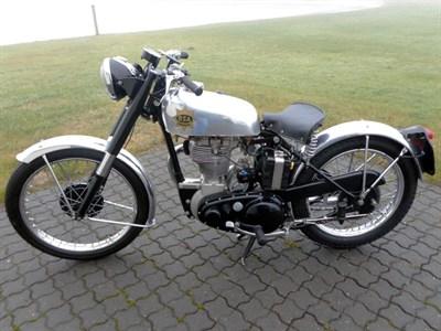 Lot 50-1953 BSA BB32 Gold Star