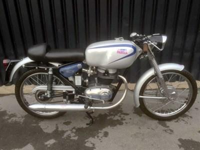 Lot 69-1958 Moto Parilla 125