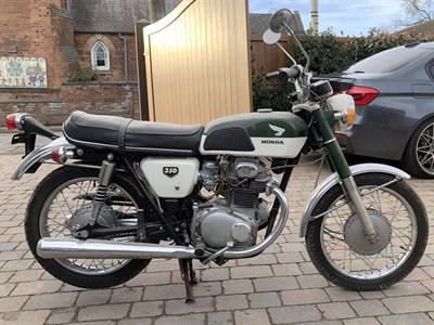 Lot 67-1969 Honda CB350 K0