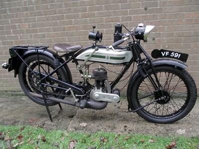 Lot 54-1926 Triumph Model P