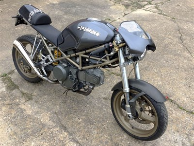 Lot 66-2000 Ducati M600 'Montah'