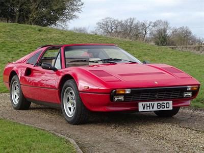 Lot 87 - 1984 Ferrari 308 GTS QV