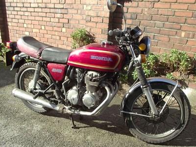 Lot 35-1978 Honda CB400F2
