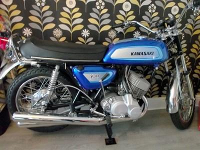 Lot 59-1971 Kawasaki H1A