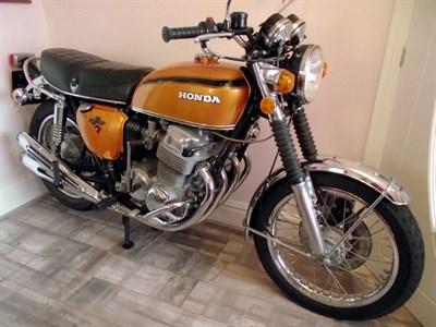 Lot 63-1974 Honda CB750 K2