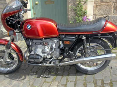 Lot 41-1976 BMW R100S