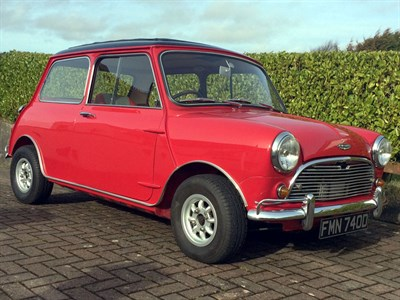 Lot 79 - 1966 Austin Mini Cooper S 1275