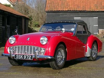 Lot 21 - 1959 Triumph TR3A