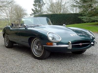 Lot 70 - 1967 Jaguar E-Type 4.2 Series 1.5 Roadster