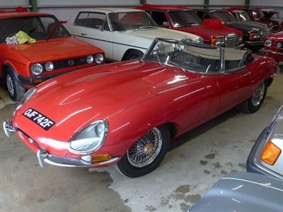 Lot 45 - 1968 Jaguar E-Type 4.2 Series 1.5 Roadster