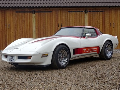 Lot 7-1980 Chevrolet Corvette Turbo