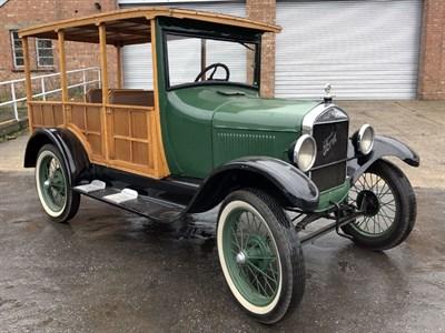 Lot 31 - 1927 Ford Model T Depot Hack