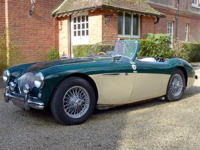 Lot 30-1955 Austin-Healey 100 Modified to M Specification