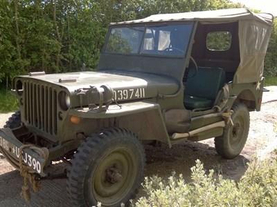 Lot 28 - 1943 Ford GPW Jeep