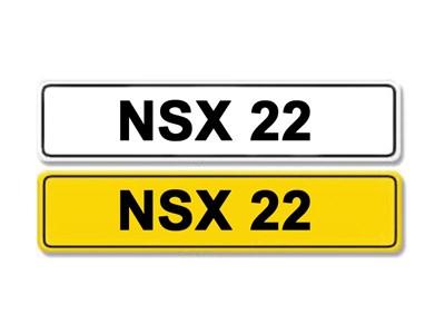 Lot 1-Registration Number NSX 22