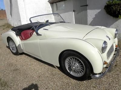 Lot 49-1954 Triumph TR2