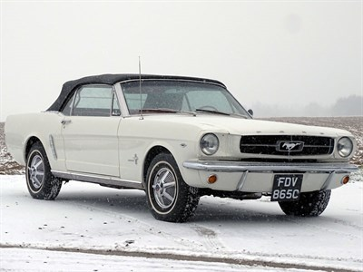 Lot 43 - 1964 Ford Mustang Convertible