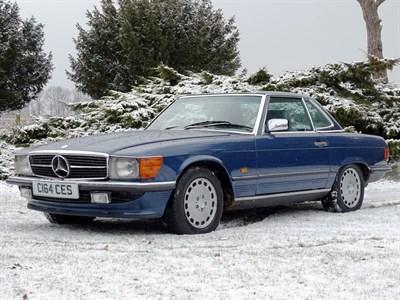 Lot 7-1986 Mercedes-Benz 300 SL