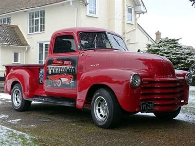 Lot 25-1951 Chevrolet 3100 Pickup
