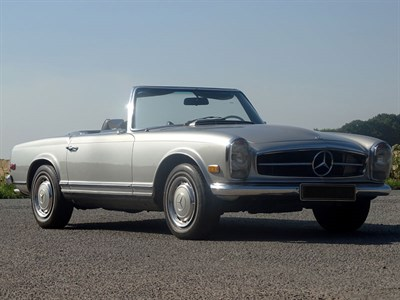 Lot 95-1970 Mercedes-Benz 280 SL