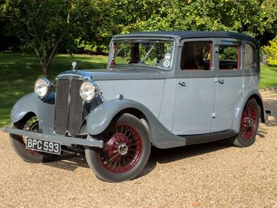 Lot 51 - 1934 Daimler 15hp Saloon